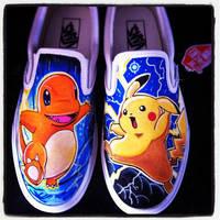 Pokemon Vans 2 by VeryBadThing
