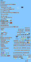 MLSS Donkey Kong Sprites Sheet by PxlCobit