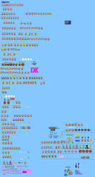 Mlss Dixie Kong Sprites Sheet By Pxlcobit On Deviantart