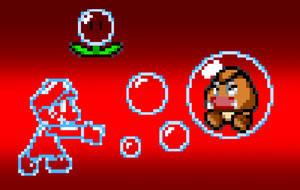 Bubble Mario? by PxlCobit