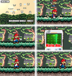 Mario VS Aeon (Part 1) by DrizzlyScroll1996