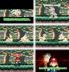 Mario VS Aeon (Finale) by DrizzlyScroll1996