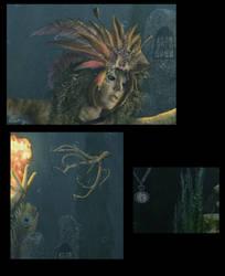 Alien Queen details by confuzzledMia