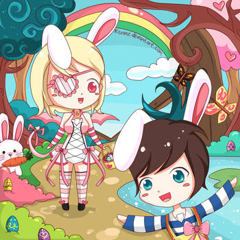 easter chibi ! by risenne