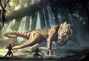 Vis'caar - Sinari Enemy Creature by Chris-Karbach