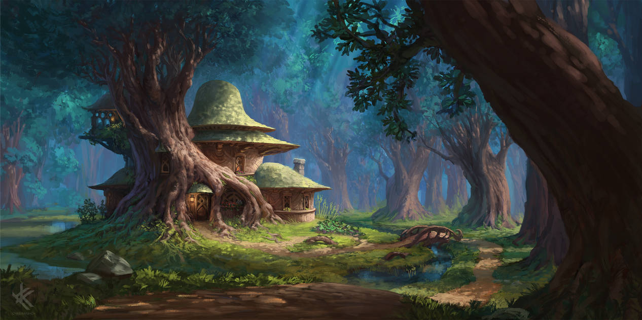 Rootbeard's House - Exterior by Chris-Karbach