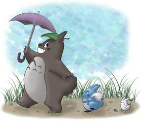 FA - Totoro by Annubrius