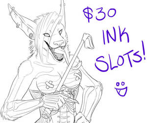 Ink Slots Available! by Annubrius