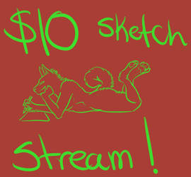 $10 Sketches Stream! by Annubrius