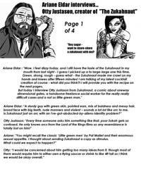 Ariane interviews Otty Justason 1 of 4 by SteampunkGorgon