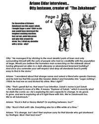 Ariane interviews Otty Justason 3 of 4 by SteampunkGorgon