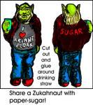 Zukahnaut Fanart - Paper-Sugar by SteampunkGorgon
