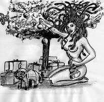 MedusaChristree01WEB by SteampunkGorgon