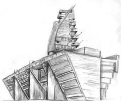 Buildings by SteampunkGorgon