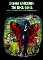 Theater of The Bloody Tongue paperback vol 3 by SteampunkGorgon