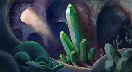 Crystal Cave by cbocquee