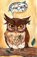 A confused owl by Busbi