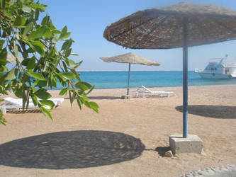 beach by cameliapotem
