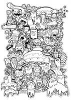 doodles T-shirt graphic Vol.2 by Jellyside