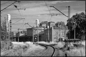 Railway Station. Stacja S-ce by oktis