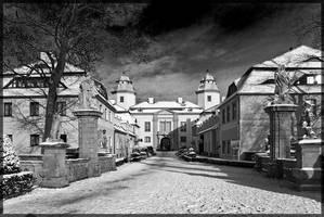 Castle Ksiaz - by oktis