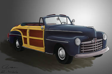 Ford Sportsman '46 Convertible by nous3rnam3