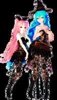 Halloween Models | DL + GIFT [UPDATE] by HikariWakamiya
