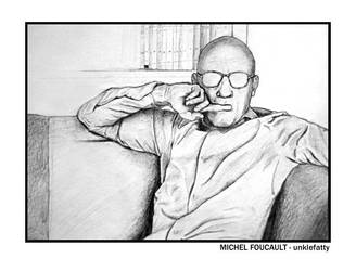 Michel Foucault by unklefatty