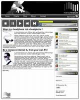 newwave Web Layout by Digital-Anarchist