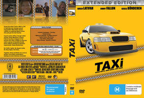 Taxi DVD Cover Re-design. by Digital-Anarchist