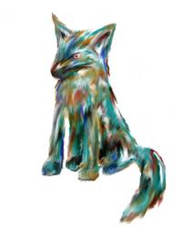 Smudge Works - Colourful Fox by ShmoogleOsukami