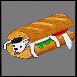 Wolf Baguette by ShmoogleOsukami