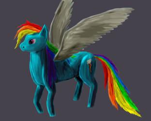 Rainbow Rash - My Little Pony by ShmoogleOsukami