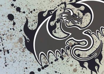 dragon vector-v2 by diffusion