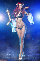 Miss fortune - Pool Party ver. by andrewhitc