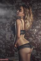 Boudoir Photoshoot - Liza Stolyarova by andrewhitc