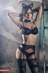 Aleksandra Boudoir Photoshoot by andrewhitc