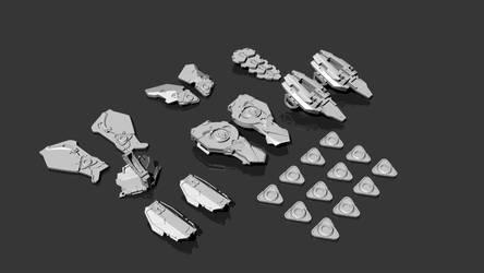 Shield-Weaver Armor Horizon Zero Dawn 3D print by andrewhitc