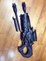 Widowmaker Huntress Skin Gun 3D printed Kit by andrewhitc