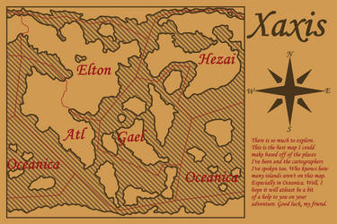 Xaxis - World Map by Draggaco