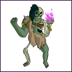 Rotting Rickie - Simple Concept Art by Draggaco