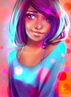 electric girl by Ni-nig
