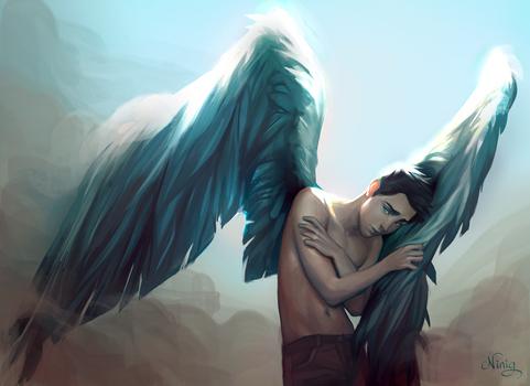 commission: pigeon by Ni-nig