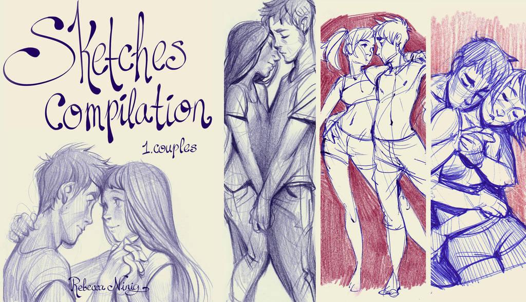 Sketches Compilation 1 Couples Pdf Sketchbook By Ni Nig On Deviantart