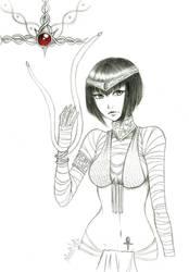 Doodle 1 - Phanir by madnati-art