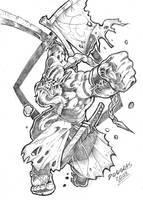 Yurnero - The Juggernaut by DOUGLASDRACO