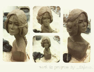 w.i.p sculpture by PiotrHarold