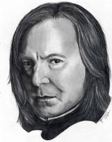Professor Severus Snape by jennieannie
