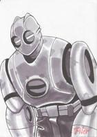 Atomic Robo Marker Sketch by Flyler
