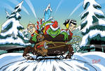 Christmas Grinch Ride by Flyler